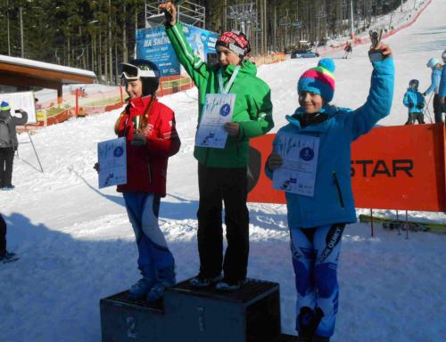 Mistrovství UNITOP ČR v lyžování 2015