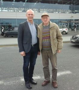Ole Jacobsen (vlevo) a Jiří Jón