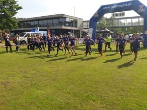 Start závodu žen